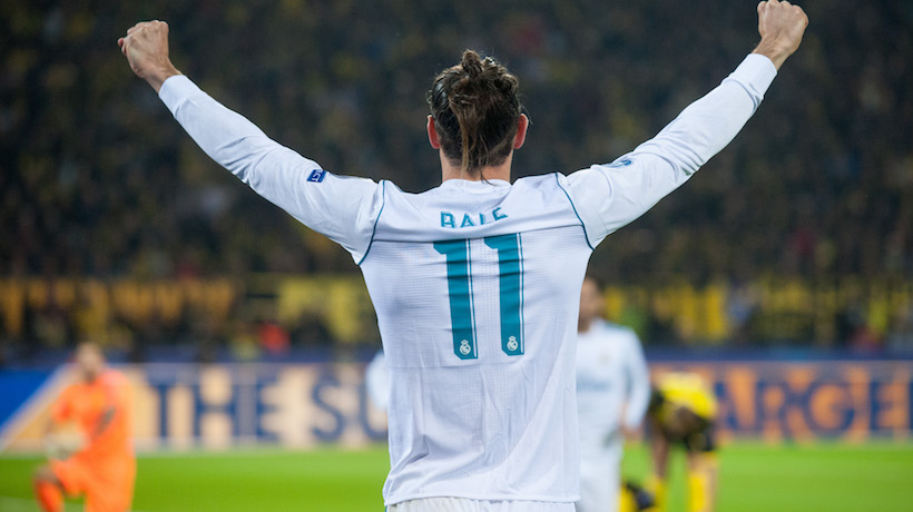 Real Madrid CF Gareth Frank Bale